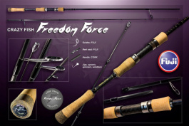 Спиннинг Crazy Fish Freedom Force FF692MLT