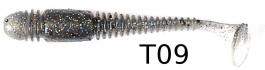 "Виброхвост Lucky John Tioga 3,9"" - 140104-T09"