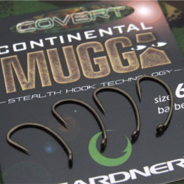 Крючок Gardner Covert Continental Mugga