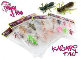 Плавающий силикон Crazy Fish Kasari