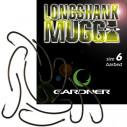 Крючки Gardner Long Shank Mugga Hooks size 8