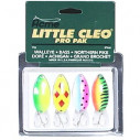 Набор блесен Acme Little Cleo Classics, #KT-40, 4/Kit 2/5 oz