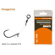 "Поводковый материал флюорокарбон ""pop-up, chod-rig"" Orange Carp"