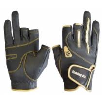 Перчатки Fishing ROI WK-04-2 black-gold