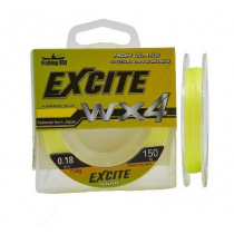 Шнур Fishing ROI Excite WX4 fluorescent