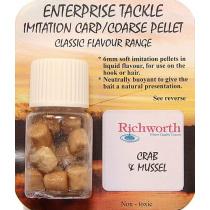 Искусственный пеллетс Enterprise Richworth - Crab&Mussel 6 mm