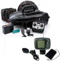 Радиоуправляемый катер-приманка Amina РК4Э-2.4 HGz с эхолотом