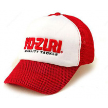 Кепка Yo-Zuri Mesh Cap red/white M489